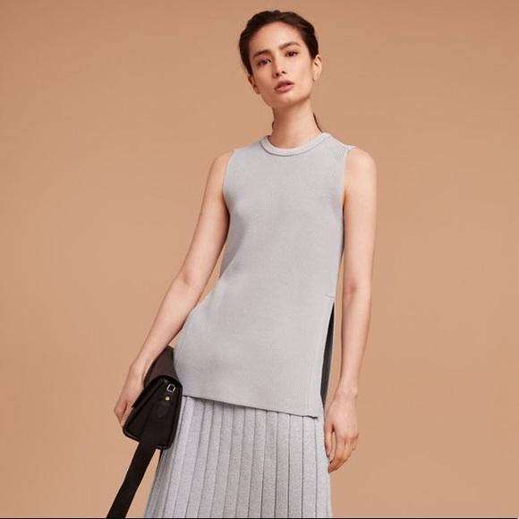 ARITZIA WILFRED | Palmier Knit Sleeveless Sweater